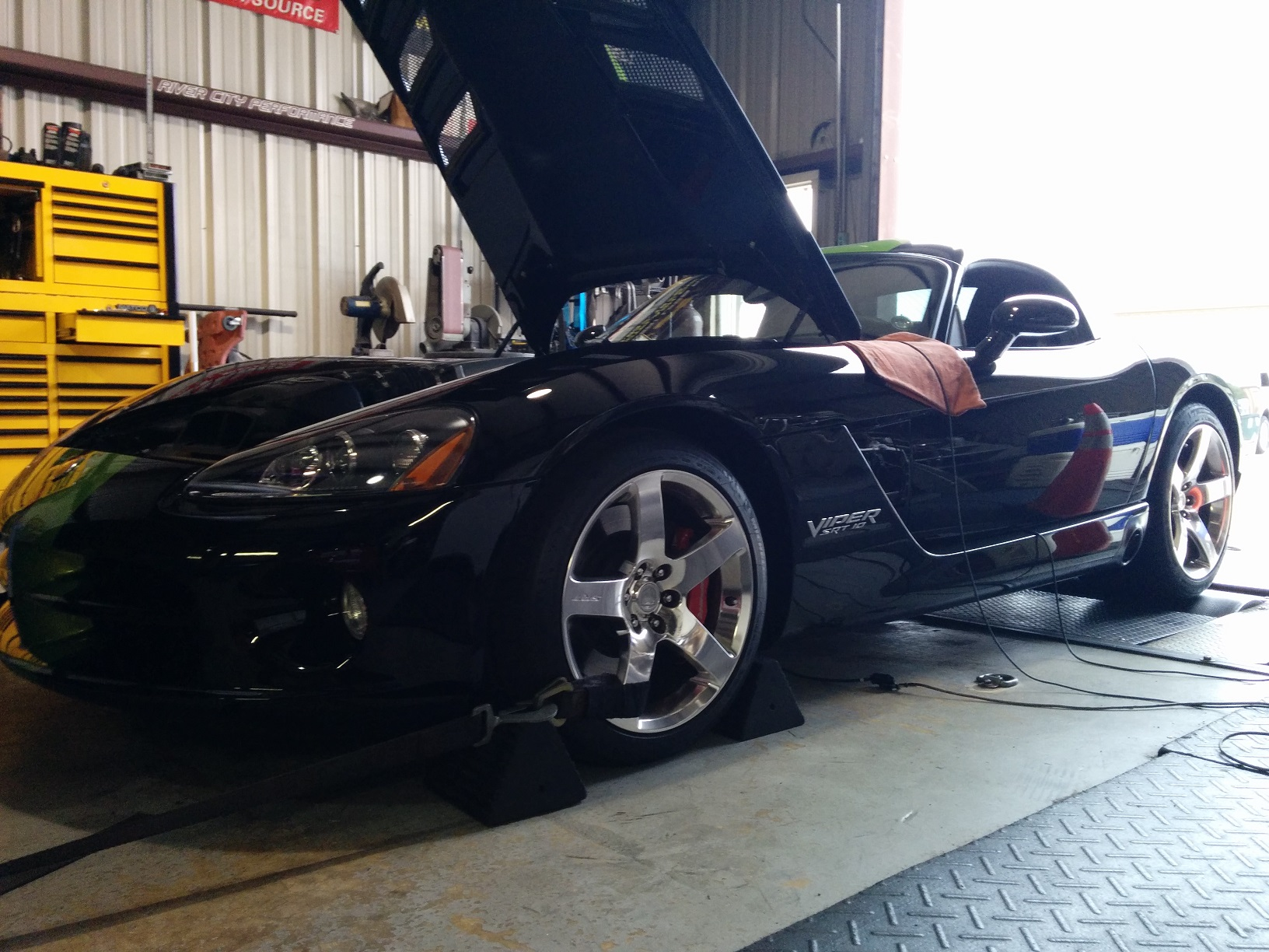 Unleashed Viper on the Dyno