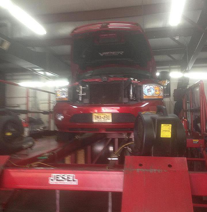 SRT10 Viper Truck Dyno Tuning