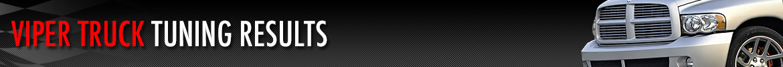 SRT10 Viper Truck Tuning Results
